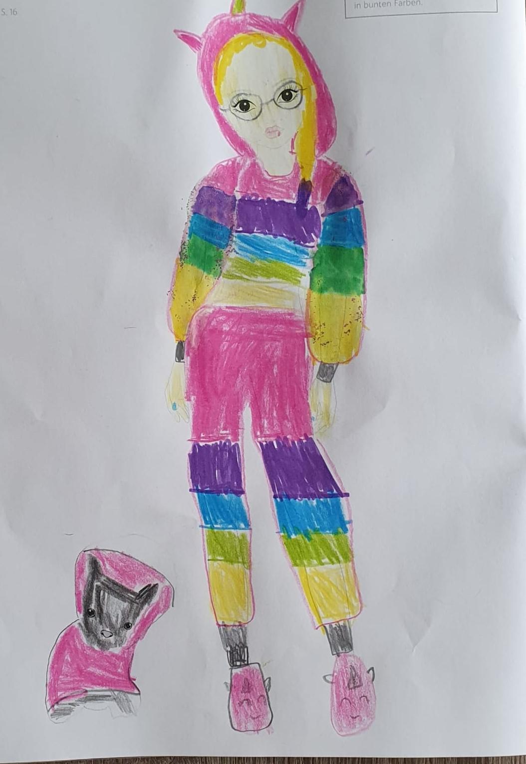 Royem  T., 9 Jahre, aus Haan