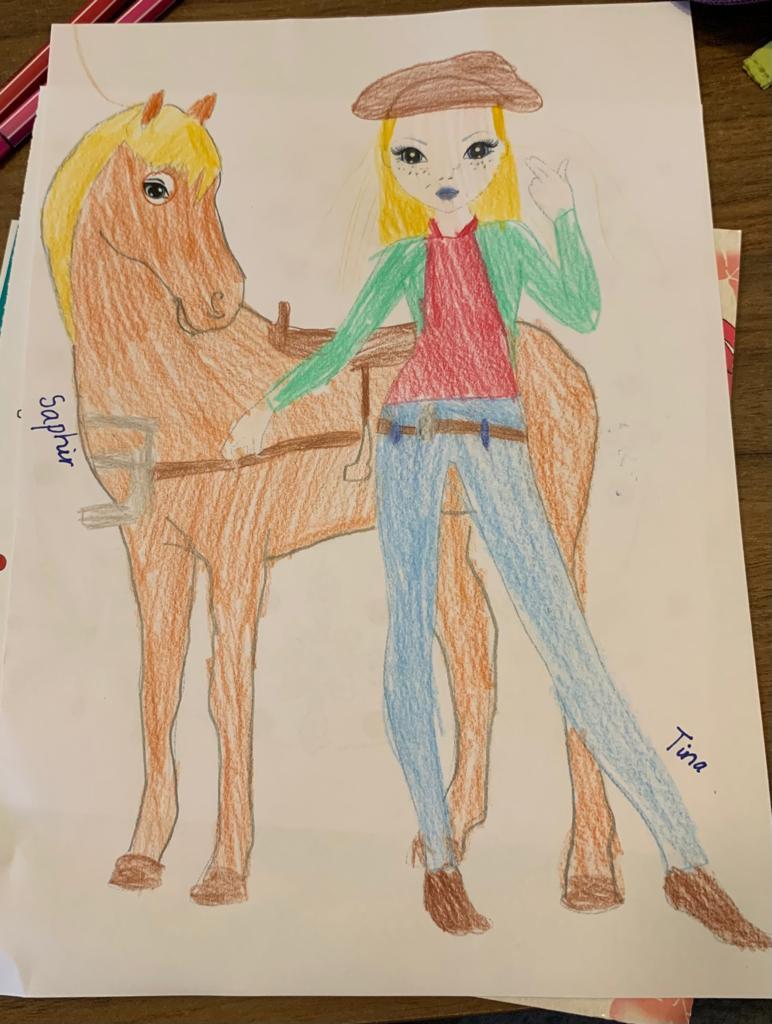 Lilli K., 8 Jahre, aus Griesheim
