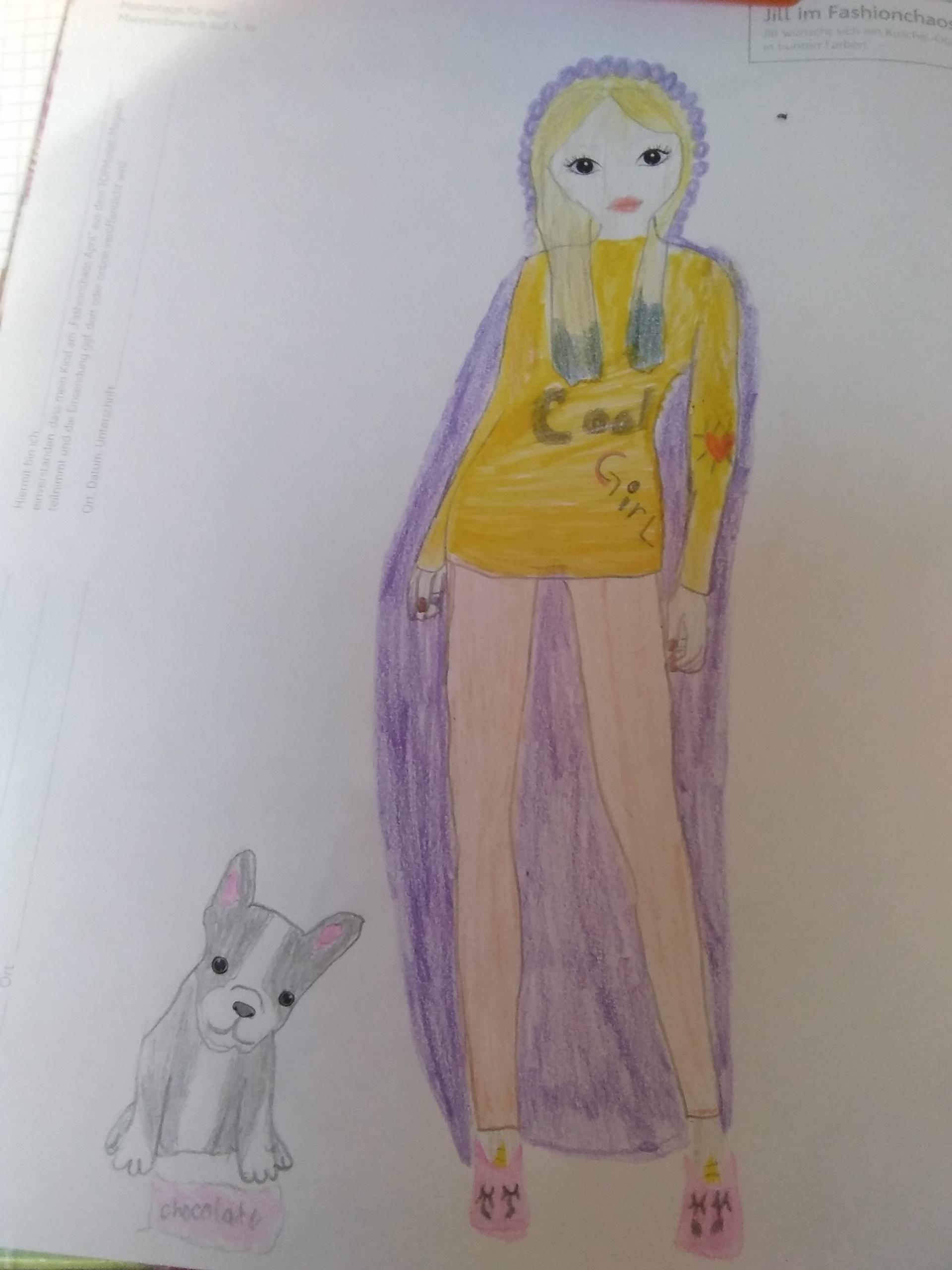 Dubravka K., 10 Jahre, aus Bonfeld
