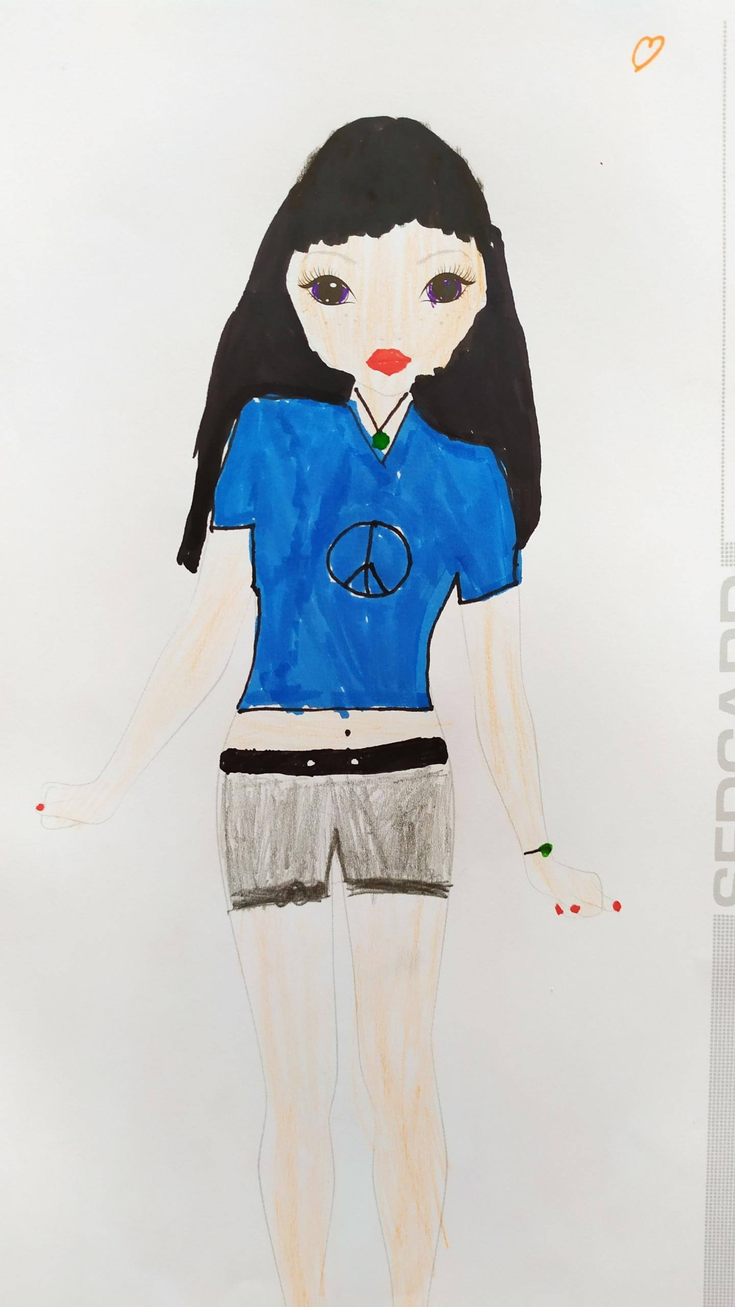 Madina T., 7 Jahre, aus Leipzig