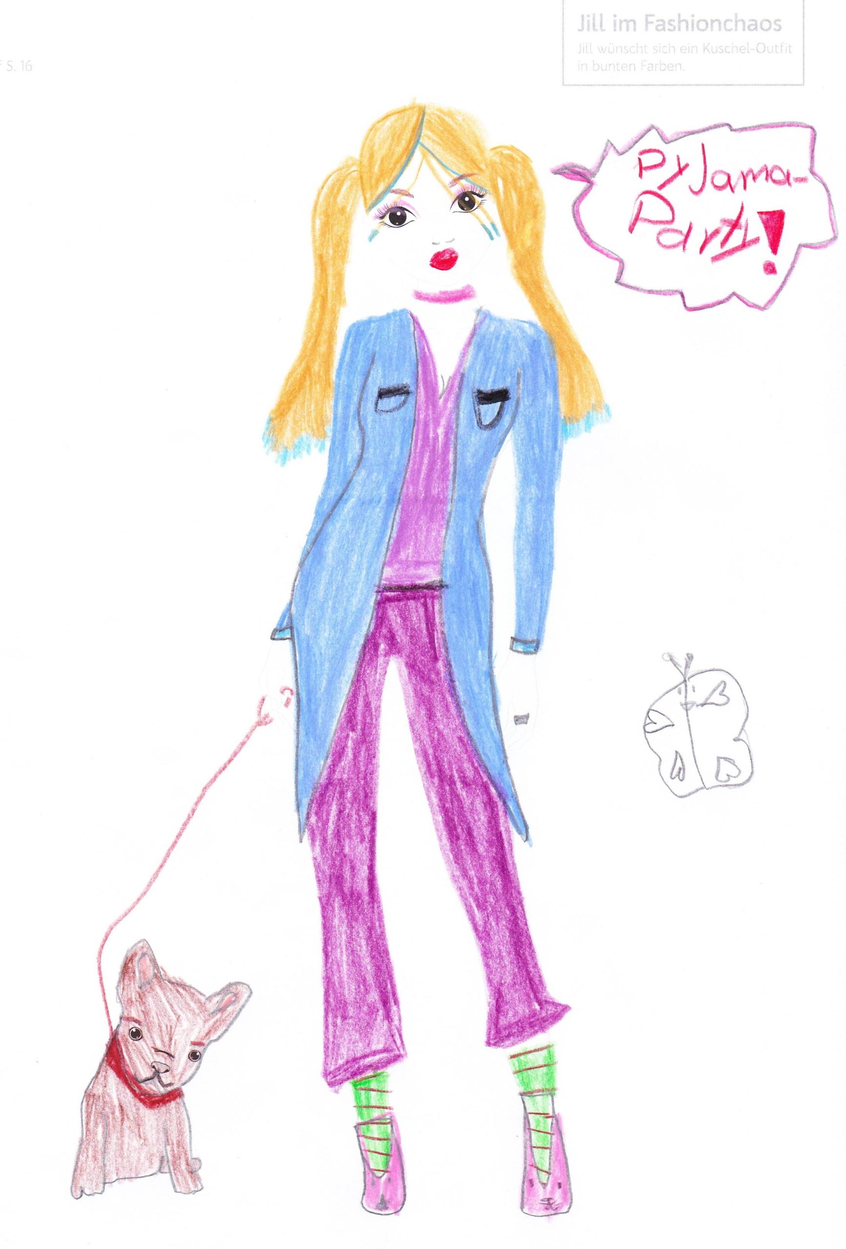 Nina A., 9 Jahre, aus Ettingen