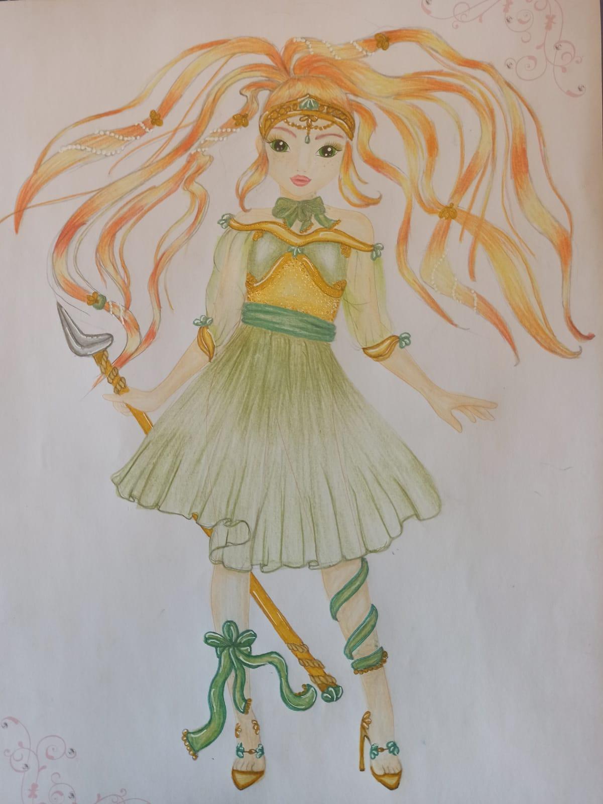 Rose S., 12 Jahre, aus Leipzig