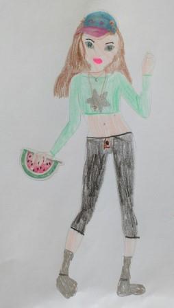 Sophie L., 7 Jahre,  Hohenstein