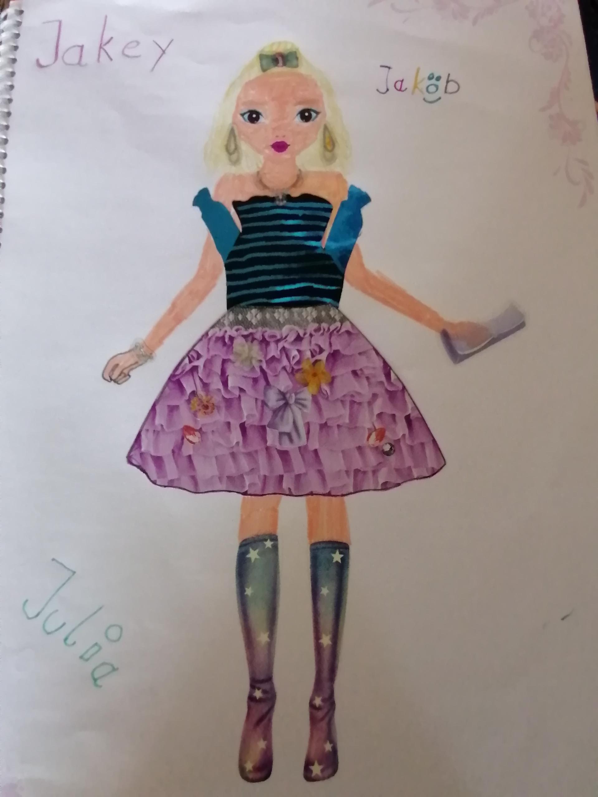 Julia M., 12 Jahre, aus Plauen