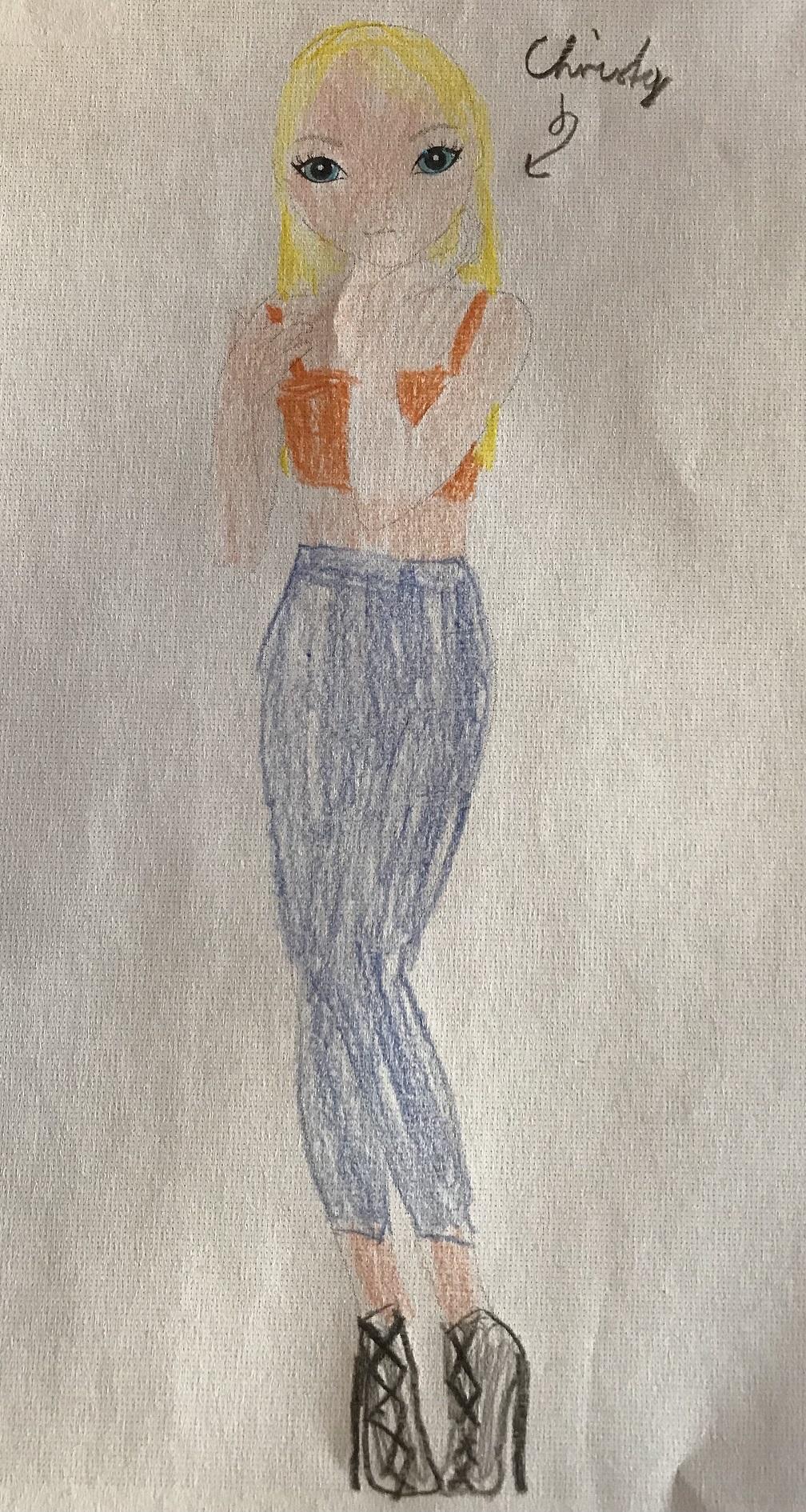 Antonia W., 8 Jahre, aus Ebern