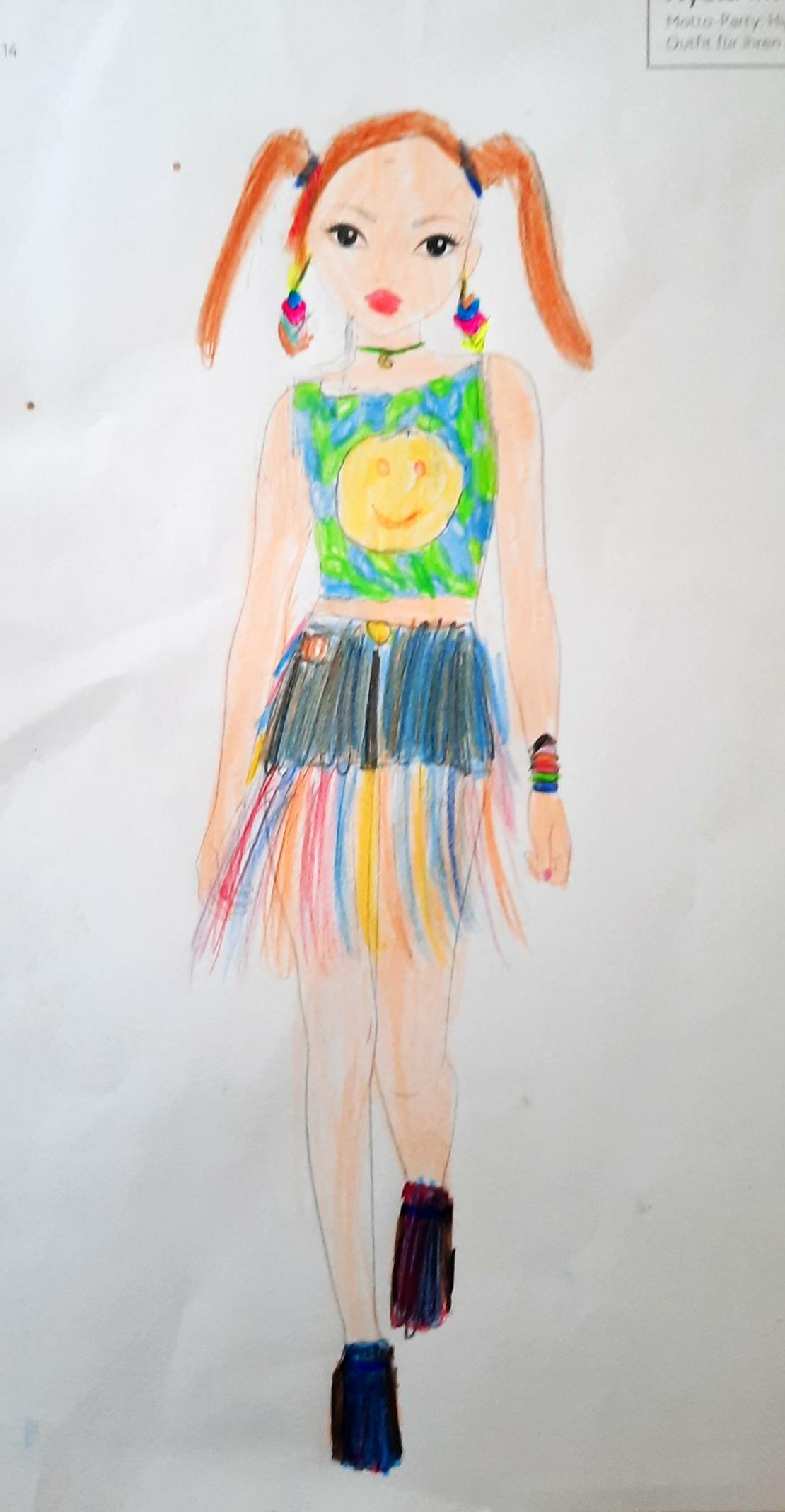 Anna N., 9 Jahre, aus Putzbrunn