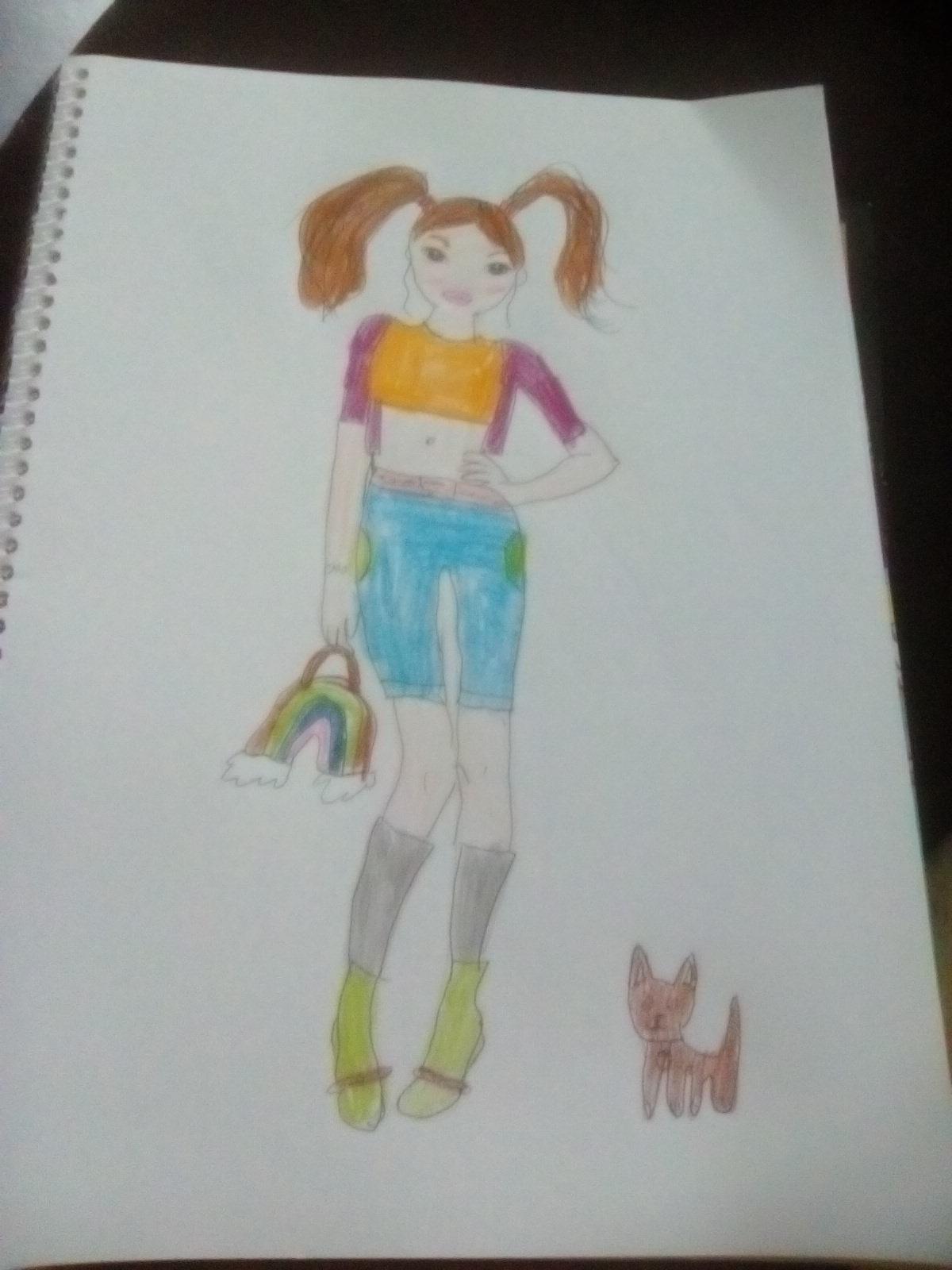 Lena B., 10 Jahre, aus Coudes