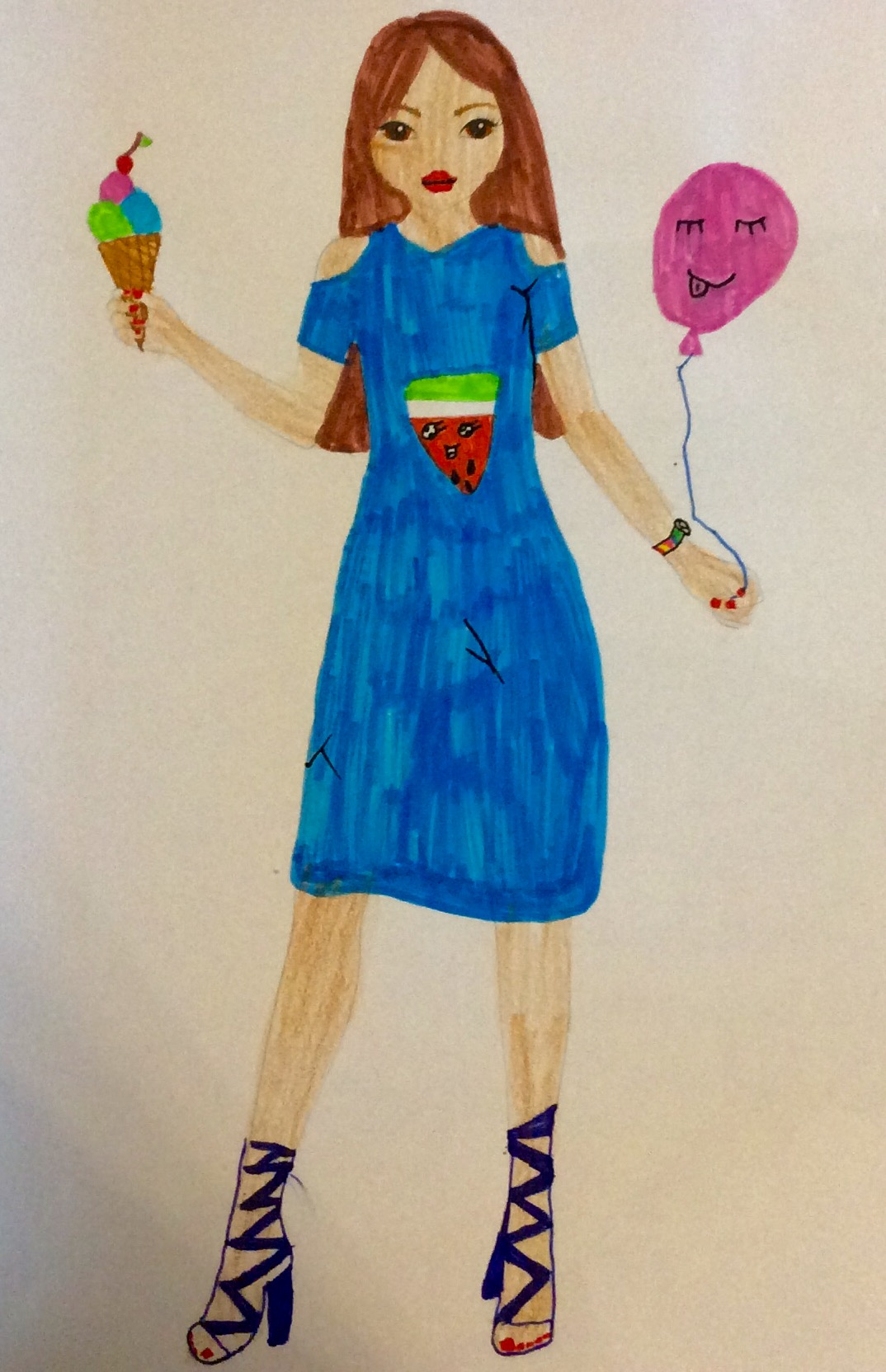 Greta W., 9 Jahre, aus Albaxen
