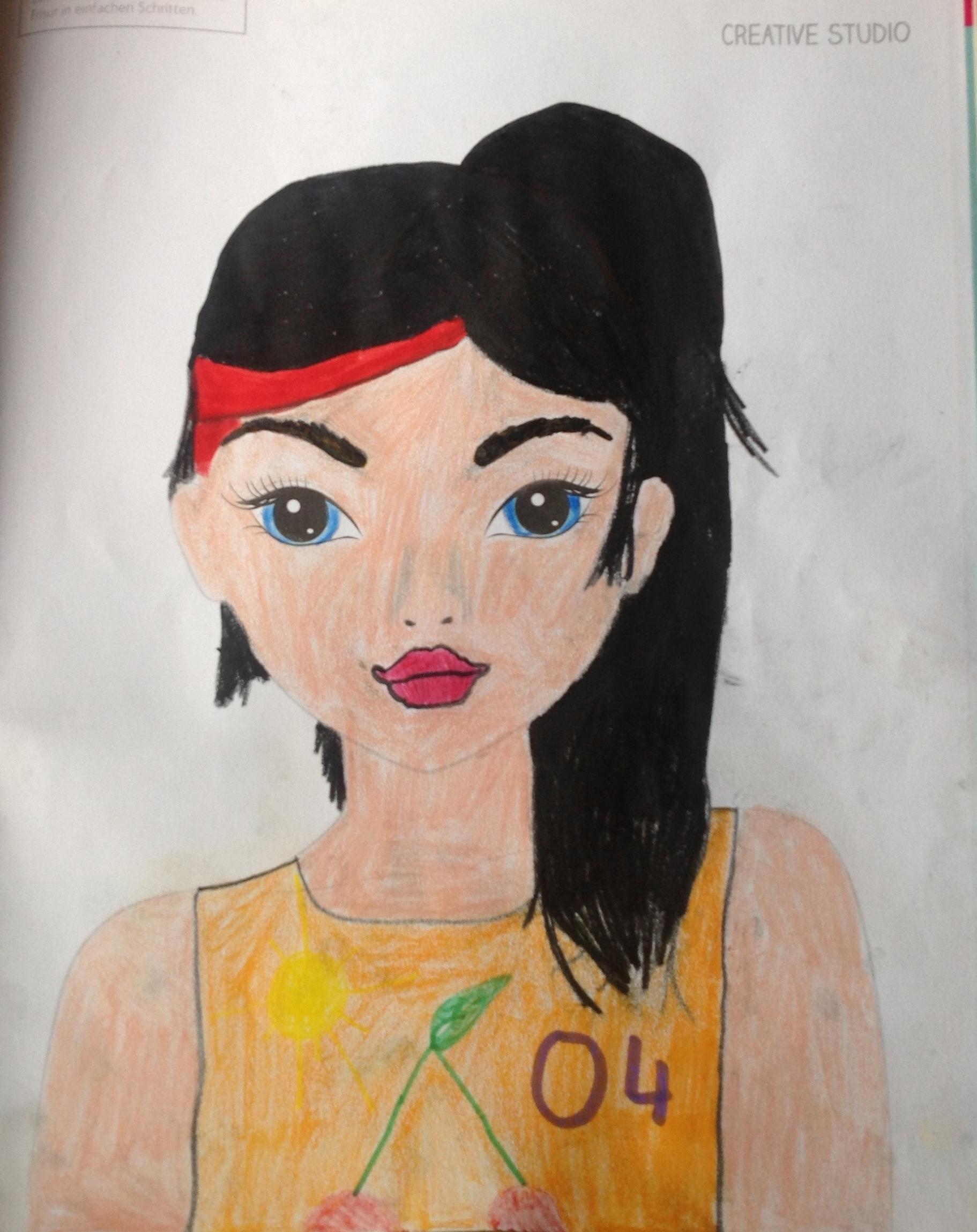 Lina-Marie M., 10 Jahre, aus Gladbeck