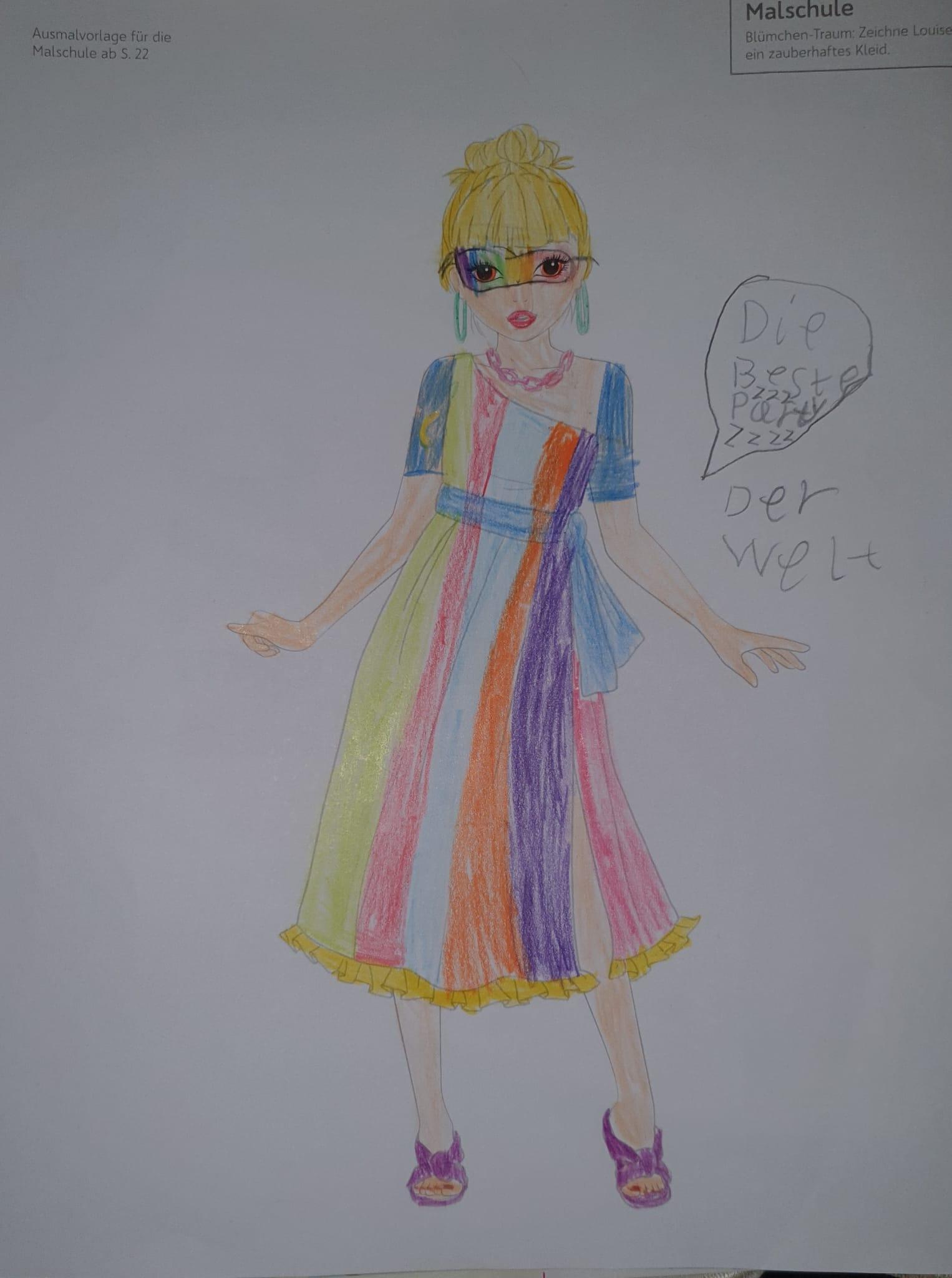 Sophie  G., 8 Jahre, aus Dortmund