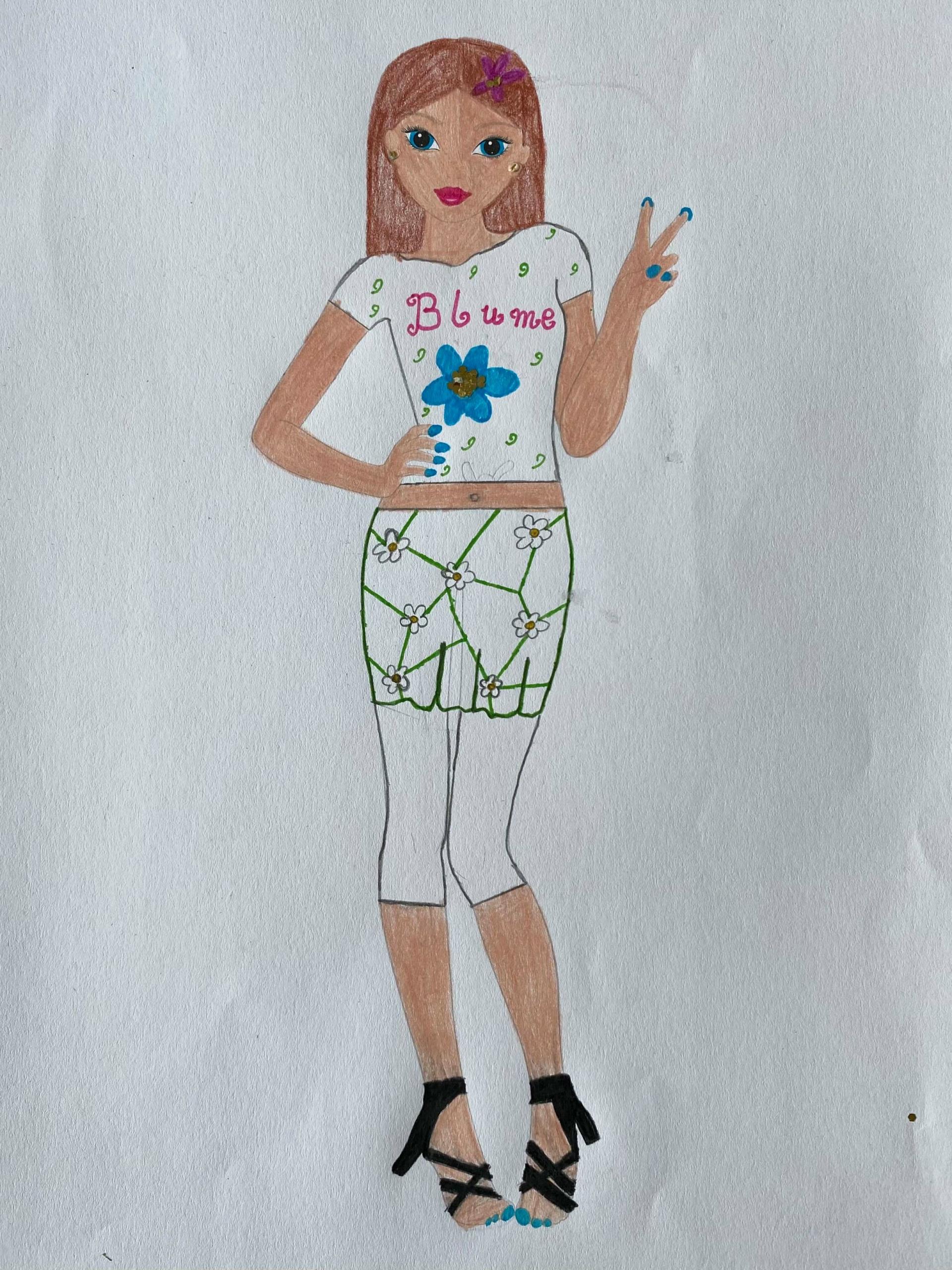 Pia K., 9 Jahre, aus Elmshorn