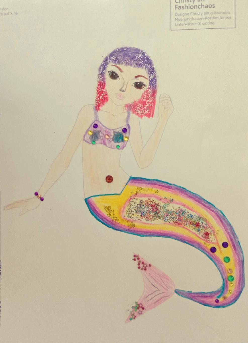 Lilly H., 8 Jahre, aus Glinde