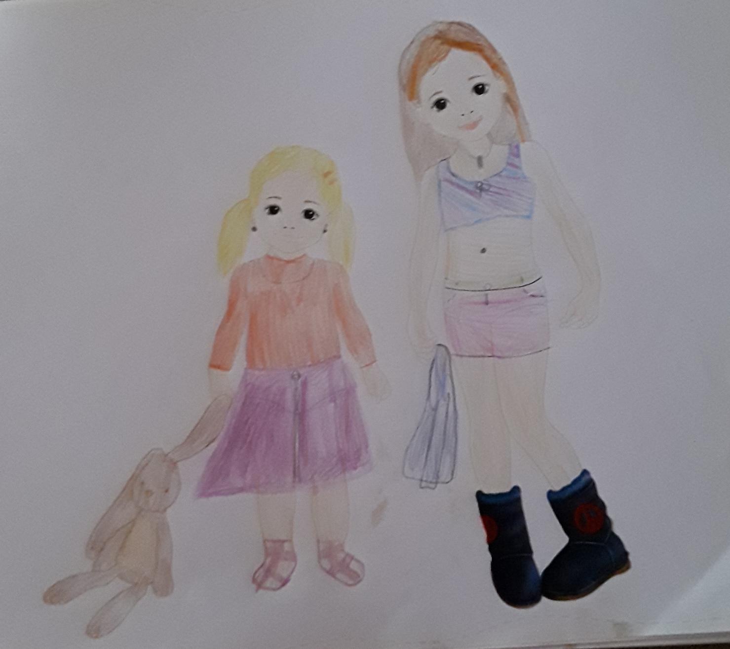 Julie V., 8 Jahre, aus Nijmegen