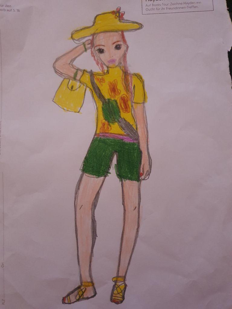 Lia Zoé  E., 7 Jahre, aus Backnang